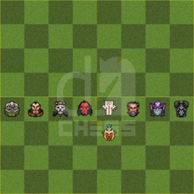 воины в dota auto chess